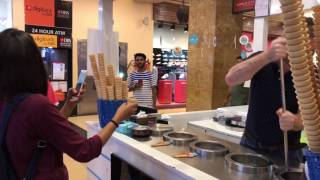 Turkish ice cream in India The most interesting show entertainment excitement comedy v7