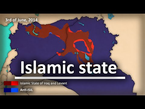 Animated Map Of ISIS Sweeping Over The Middle East Is