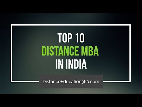 10 Best Distance Education MBA India Offered by Top Universities