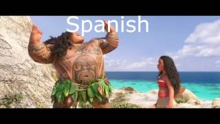 Video You're Welcome but every time Maui says You're Welcome it switches languages MP3, 3GP, MP4, WEBM, AVI, FLV Mei 2018
