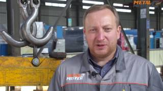Гидравлический листогибочный пресс с ЧПУ HPJ 2040 MetalMaster