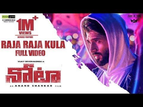 Video Raja Raja Kula Full Video Song - Nota Telugu Video Songs | Vijay Devarakonda | Sam C.S|Anand Shankar download in MP3, 3GP, MP4, WEBM, AVI, FLV January 2017