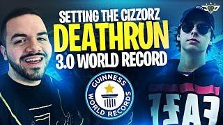 SETTING THE CIZZORZ DEATHRUN 3.0 WORLD RECORD?! (Fortnite: Battle Royale)