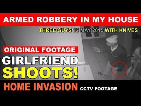 Хозяйка дома во всеоружии встретила грабителей