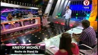La mirada extranjera de Kristof Micholt  en noche de Stand Up