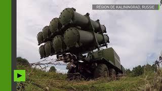 Un système de missiles de défense côtière russe BAL testé lors des manœuvres Zapad 2017