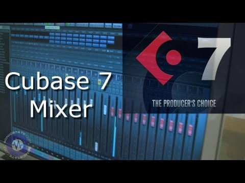 Cubase 7 Mixer Window – Music Production Show – London