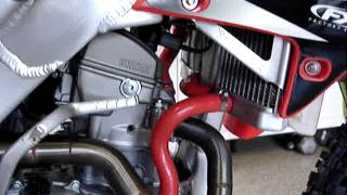 10. Bike 51 - 2008 Honda CRF250R cold start and description