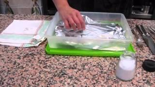 como limpiar los cubierto de plata