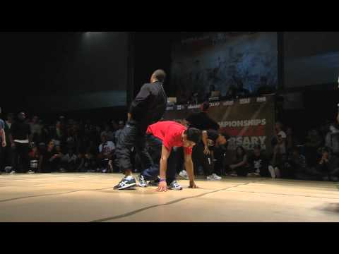 Vagabonds (France) vs. Amazon (Brazil) - BBoy Crew 1/4 Finals 2010