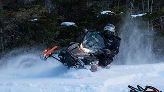 6. Présentation de la motoneige Arctic Cat XF CrossTrek 6000 2016