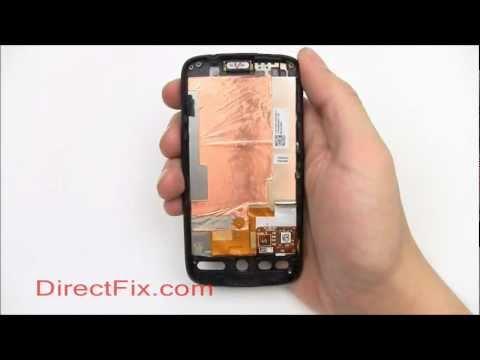 how to repair htc desire screen