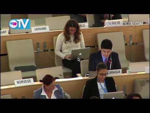Nicaragua destaca su modelo democrático en Consejo de Derechos Humanos ONU