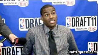 Alec Burks - 2011 NBA Draft - Media Day Interview