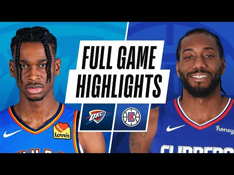 Game Recap: Clippers 120, Thunder 106