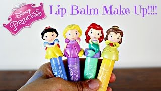 Hi Everybody!Today I am showing you this awesome set I got from the Disney Store! This is the Disney Princess Make Up Lip Balm Set. So cool.This lip balm  looks a lot like lipstick but it more for young girls. I think this is great lip make up for young girl to play with. The four lip balms we get are from Snow White, Rapunzel, Ariel and Belle!Let me know which is your favorite.Thank you for watching!Toy Club xxx