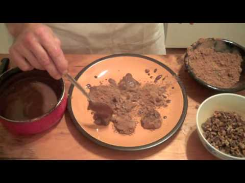 Henry's Kitchen -  Nutty Chocolate Truffles