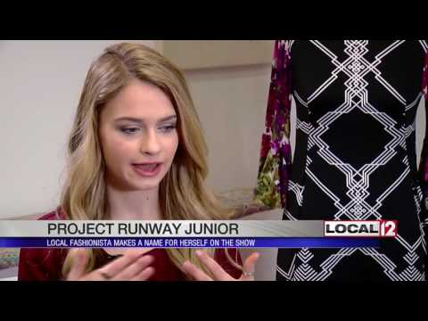 Local fashionista makes name for herself on Project Runway Junior