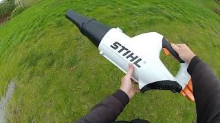 1. Stihl BGA 85 cordless blower review