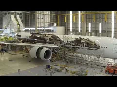 livery - Plane Wrap Time Lapse Video of The Hobbit B777-300 for Air New Zealand The Airline of Middle-earth #AIRNZHobbit.
