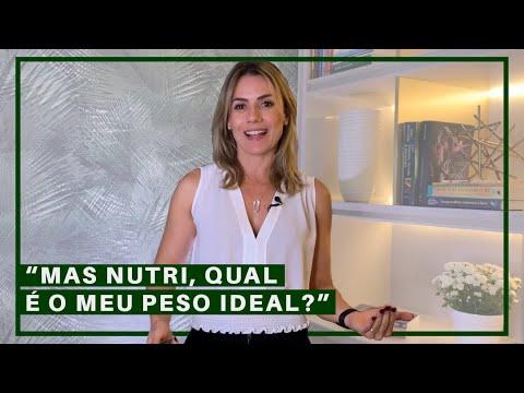 """Nutricionista - """"MAS NUTRI, QUAL É O MEU PESO IDEAL?""""  EMAGRECENDO COM PRAZER #017"""