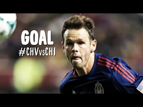 Video: GOAL: Bobby Burling scores a towering header to give Chivas the lead | Chivas USA vs Chicago Fire