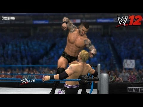 WWE '12 - New Predator Technology