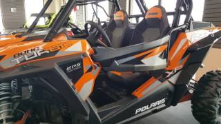 4. 2016 Polaris RZR XP Turbo Spectra Orange