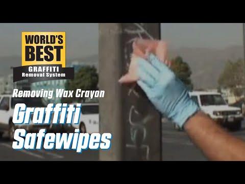 Wax Crayon off Pole