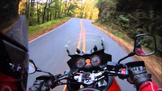 10. Moonshiner 28 on a 2009 V Strom 650 - October 17, 2014