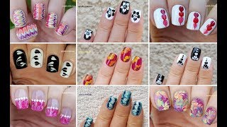 Video NAIL ART COMPILATION #6 - Ideas For Dry Marble Nails 2019 / LifeWorldWomen MP3, 3GP, MP4, WEBM, AVI, FLV Agustus 2019