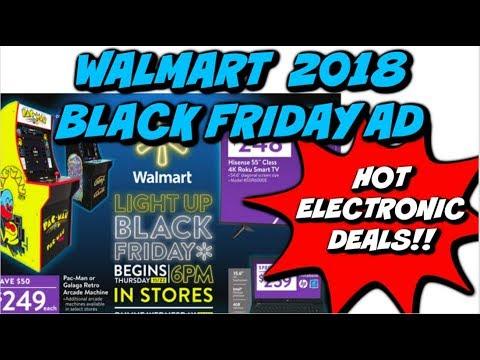 2018 WALMART BLACK FRIDAY AD   HOT ELECTRONICS, TOYS & MORE!