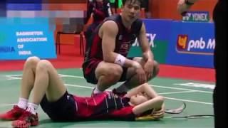 Download Video Rangkuman Cedera Parah Pemain Badminton Dunia MP3 3GP MP4