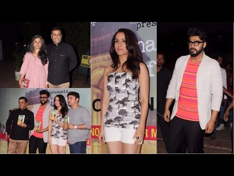 Arjun Kapoor | Shraddha Kapoor | At The Book Launch Of Half Girlfriend