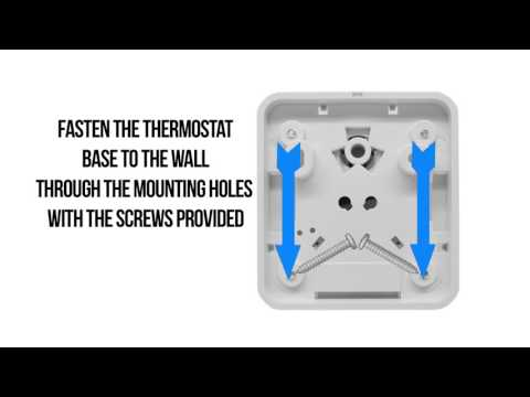 How to Correctly Wire the Thermostat