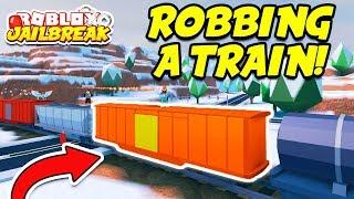 Roblox Jailbreak WINTER UPDATE! Train Robbing and Volt Bike! | New Streamlabs OBS Face Masks!!