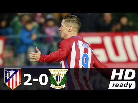 Atletico Madrid vs Leganes 2 0 All Goals and Highlights La Liga Santander - New 1018