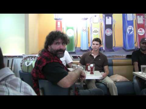WWE MICK FOLEY AKA ManKind BRINGS OUT MR SOCKO on POPPAROTZ Tv