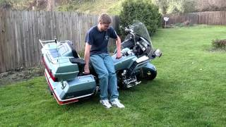 8. How to pick up a 1985 GoldWing 1200 Apsencade.