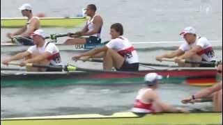 zum ersten Mal wieder seit 24 Jahren die Goldmedaille gewonnen der 36. Sieg in Folge Die deutschen Athleten: Filip Adamski...