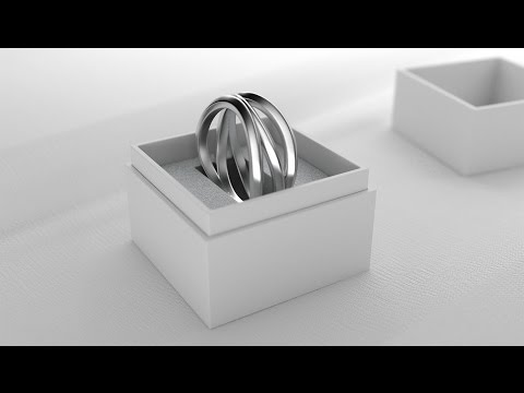 How to create a custom wedding ring with VECTARY | 3D modeling tutorial