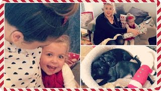 Festive Day With Louise, Darcy & Matt | Vlogmas