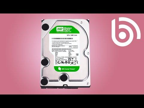 Navodila za namestitev trdega diska WD HDD 3TB