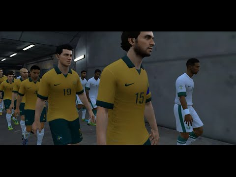 Australia vs Saudi Arabia – FIFA14 – Argentina 2nd World Cup Qualifiers