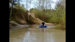 8. yamaha grizzly 350 irs vs yamaha grizzly 700 fi woda test snorkel mud water