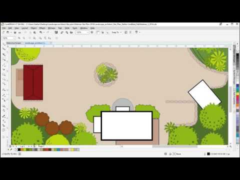 CorelDRAW Webinar - How To Create A Vector Landscape Architectural Site Plan Illustration