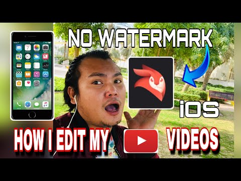 VIDEO EDITING APPS FOR IPHONE | NO WATERMARK | STEP BY STEP(TAGALOG TUTORIAL)