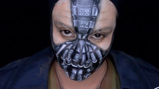 Only In Ur Mind: Welcome to Only In Ur Mind. I have another Batman villain makeup and it's Bane.  I was not sure how this makeup would turn out so I did the makeup in sections and I was very pleased with the way it turned out.  I hope you enjoy!Make-up used mehron paradise paint: white, light grey, olive, and  starblend in blackWolfe face: 015Cameleon: blackFAB:  Indian brown and dark greymusic by: Faceoff by Kevin MacLeod is licensed under a Creative Commons Attribution license (https://creativecommons.org/licenses/by/4.0/)Source: http://incompetech.com/music/royalty-free/index.html?isrc=USUAN1100403Artist: http://incompetech.com/ For most of the products I use please check out my affiliate link : https://store.facepaint.com/tasharo.html