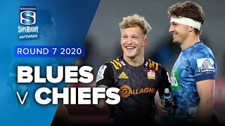 Blues v Chiefs Rd.7 2020 Super rugby Aotearoa video highlights