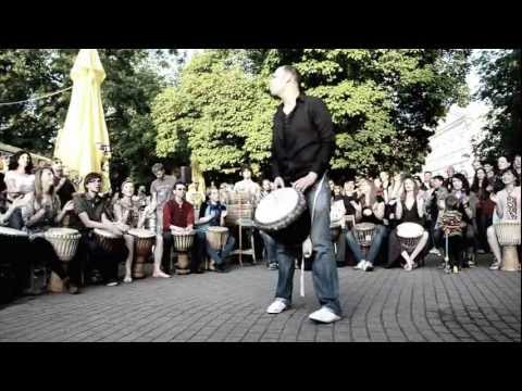 Street Music: Djembe players at GMD 2012 HD